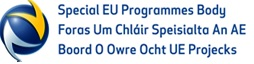 Special EU Programmes Body is responsible for the implementation of the EU's PEACE IV and INTERREG VA Programmes. We also have a signposting role to promote involvement in the INTERREG VB Transnational and INTERREG VC Interregional Programmes.